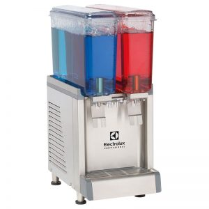 ECS Chilled beverage dispenser with 2x9Ll bowls and agitator